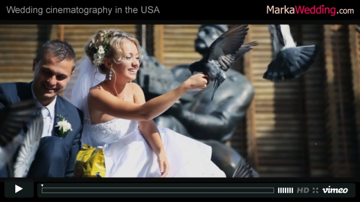 Alexander & Olga - Wedding videography (Clip) | MarkaWedding.com