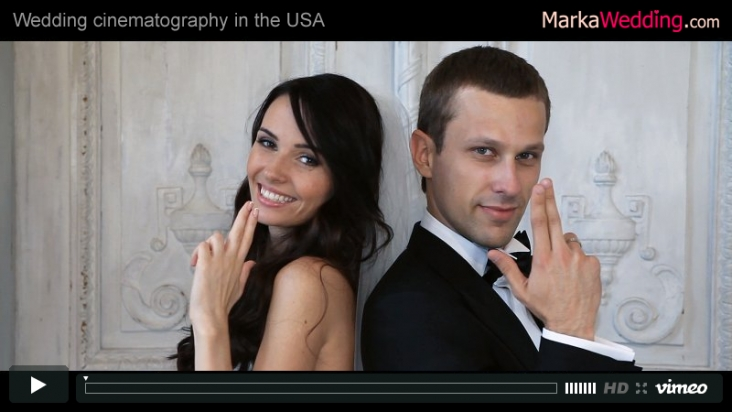 Artem & Valeria - Wedding video (Clip) | MarkaWedding.com