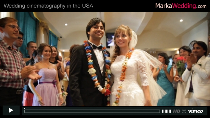 Suraj & Marina - Highlights wedding clip | MarkaWedding.com