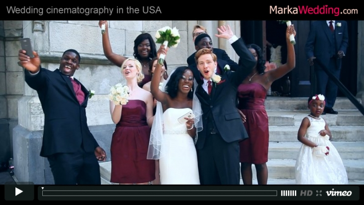 Michelle & Blake - Wedding videography Philadelphia (PA) | MarkaWedding.com