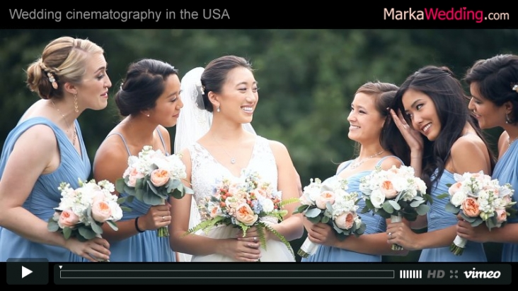 Mike & Kim - Wedding videographer New Jersey (NJ) | MarkaWedding.com