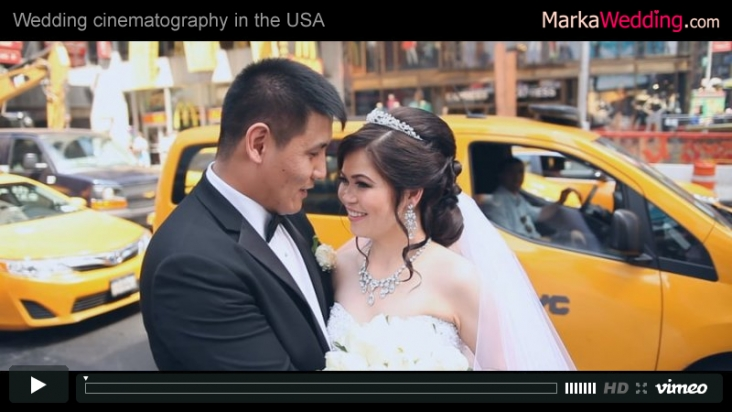 Mirbek & Milana - Wedding videographer NYC (Manhattan) | MarkaWedding.com