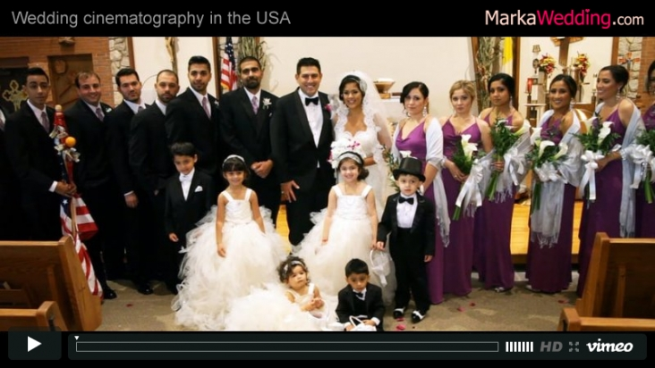 Tina & William - Wedding videography New Jersey (NJ) | MarkaWedding.com